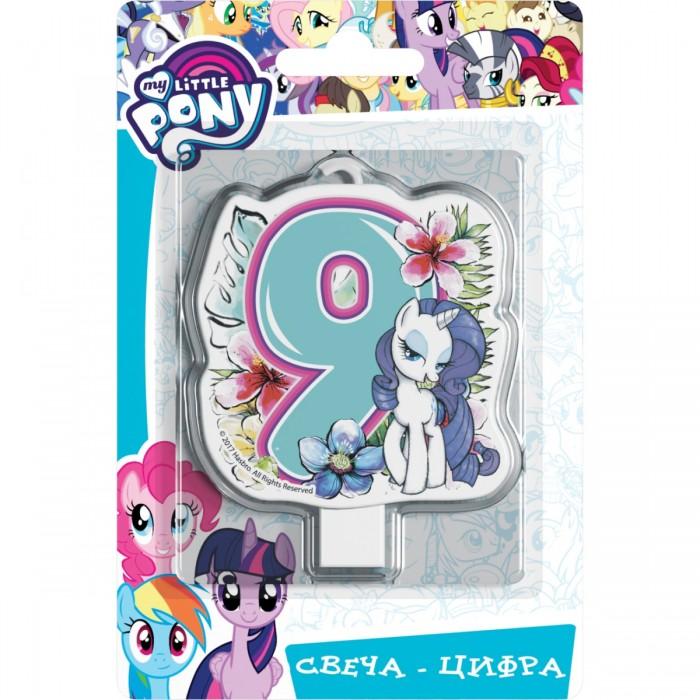 Товары для праздника Май Литл Пони (My Little Pony) Свеча-цифра № 9 Мой маленький пони шереметева г мой ребенок растет счастливым
