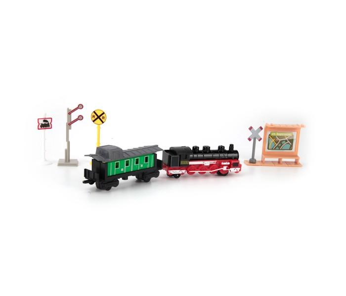 Железные дороги Технопарк Набор Железнодорожный конструктор железнодорожный вокзал