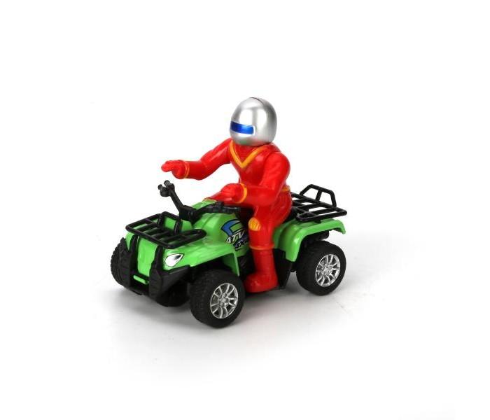 Машины Технопарк Квадроцикл с фигуркой