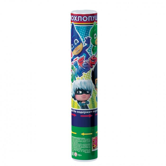 Товары для праздника Герои в масках (PJ Masks) Хлопушка 30 см конфетти с героями