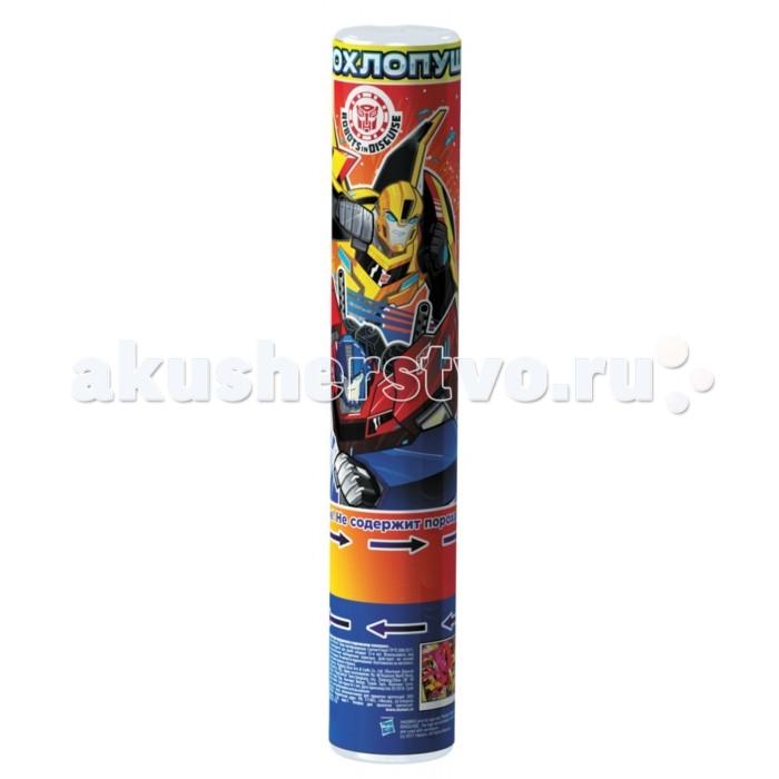 Товары для праздника Transformers Хлопушка 30 см с разноцветными конфетти