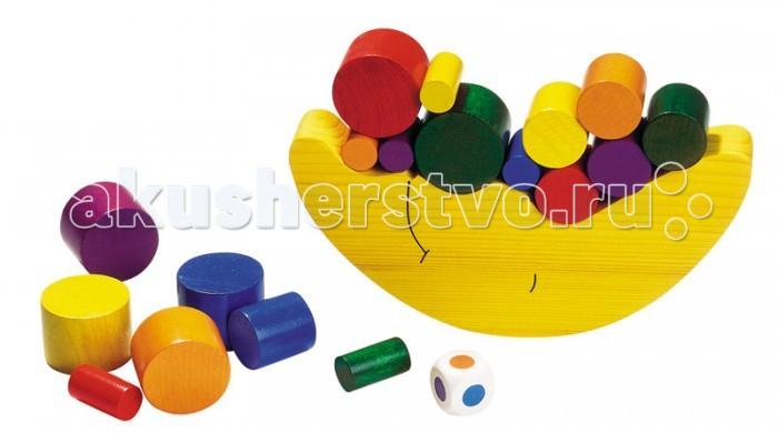 Купить Деревянные игрушки, Деревянная игрушка Goki Игра Нагрузи луну