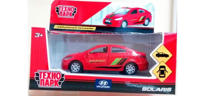 Машины Технопарк Машина Hyundai Solaris Sport машинки технопарк машина технопарк металл инерционная урал самосвал 12см открывающиеся двери