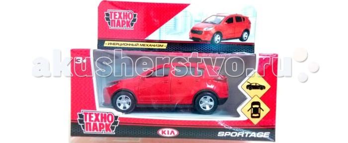 Машины Технопарк Машина Kia Sportage машинки технопарк машина технопарк металл инерционная урал самосвал 12см открывающиеся двери