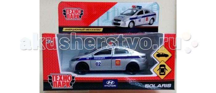 Машины Технопарк Машина Hyundai Solaris полиция машины технопарк машина hyundai santafe sport