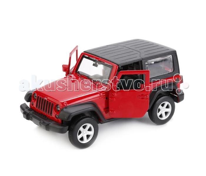 Машины Технопарк Машина Jeep Wrangler 1:43 faduies 1 pair 7 inch black round led headlights with h4 high low beam for jeep wrangler jk tj hummer h1