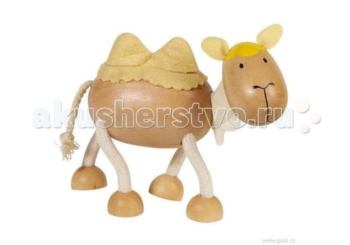 Деревянные игрушки Goki Друзья Эми Верблюд развивающие игрушки tolo toys верблюд первые друзья