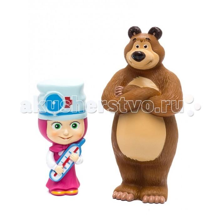 Игровые фигурки Маша и Медведь Фигурки Маша-доктор и Мишка маша и медведь для тела