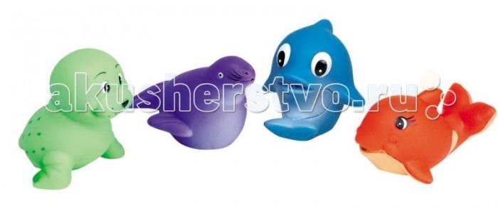 Игрушки для ванны GK Игрушки для купания Морские животные игрушки для ванны капитошка набор для купания морские животные