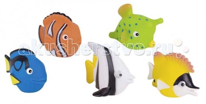 Игрушки для ванны GK Игрушки для купания  Рыбки 5 шт. игрушки для ванны tolo toys рыбки магнитные