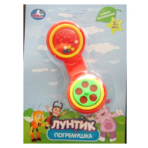 Погремушки Умка Лунтик Телефонная трубка умка лунтик погремушка пчелка цвет зеленый голубой красный