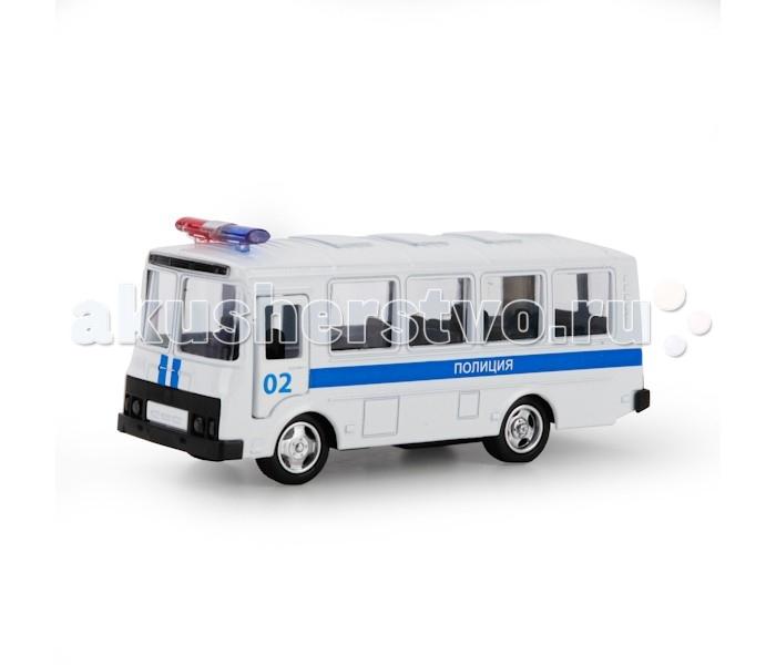Машины Технопарк Автобус ПАЗ полиция shantou туристический автобус