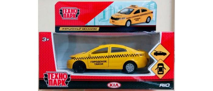 Машины Технопарк Машина Kia Rio такси машинки технопарк машина технопарк металл инерционная урал самосвал 12см открывающиеся двери