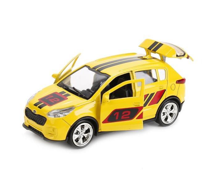 Машины Технопарк Машина Kia Sportage sport машинки технопарк машина технопарк металл инерционная урал самосвал 12см открывающиеся двери