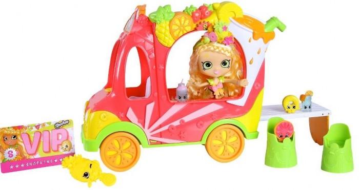 Купить Игровые наборы, Shopkins Игровой набор Смузи грузовичок и Тропическая Лили