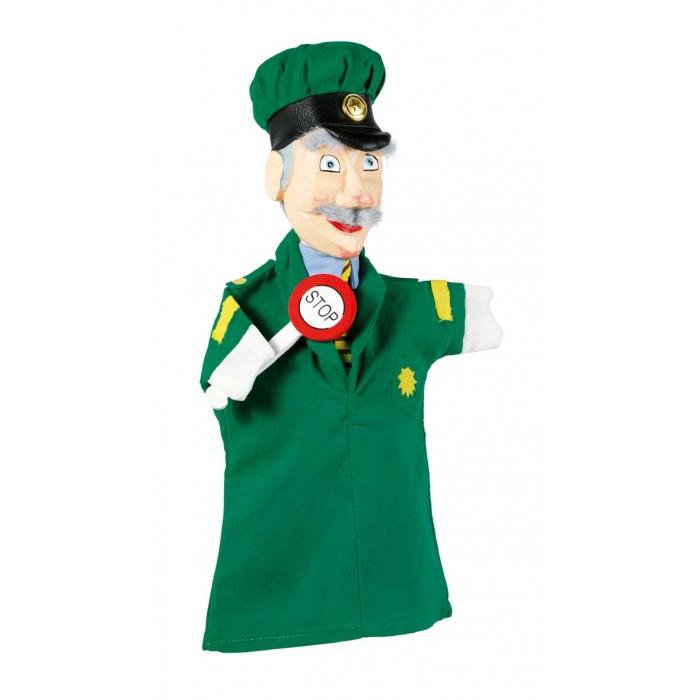 Ролевые игры Goki Кукла на руку Полисмен резная goki мягкая кукла мишка с комплектом одежды goki