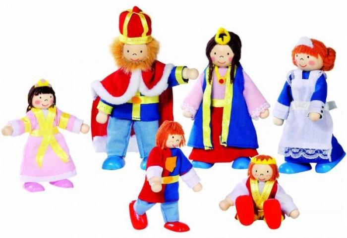 Goki Куклы Семья царская 6 в 1