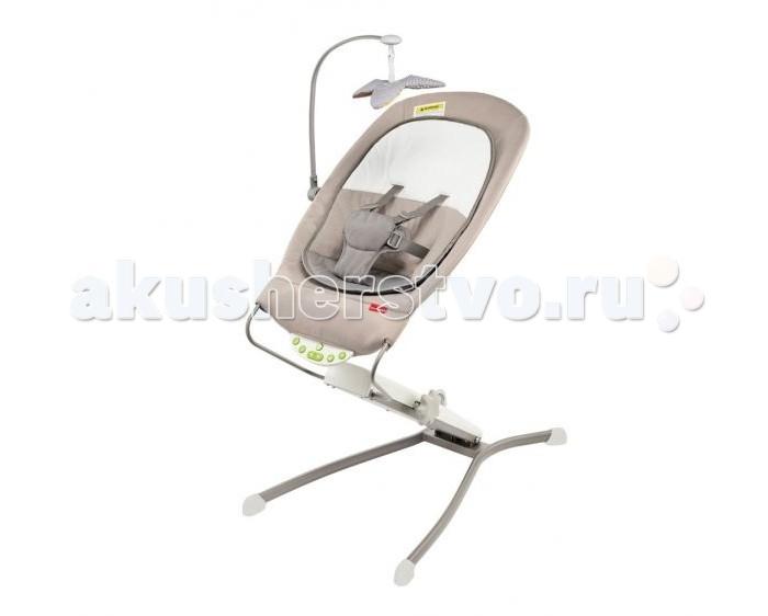 Электронные качели Skip-Hop трехуровневыетрехуровневыеТрехуровневое качающееся кресло Skip-Hop будет вашим незаменимым помощником дома, особенно на первых порах, а затем станет прекрасным способом проведения досуга для ребенка.   Особенности:  Трехуровневое качающееся кресло имеет изменяемую высоту, вплоть до 86 см.  Его чехол предусматривает возможность стирки в стиральной машине, поэтому легко снимается и надевается обратно.  Для комфортного и безопасного нахождения ребенка в кресле оно оборудовано 5-точечными ремнями безопасности.  Для использования детьми с рождения присутствует специальный анатомический вкладыш.  Кресло оснащено звуковыми эффектами и вибрацией. На выбор предлагаются две мелодии или два звука, успокаивающе влияющих на малыша. Это сердцебиение и звук волн.   Громкость музыки регулируется и автоматически выключается через 20 минут ожидания.  Каркас кресла прочный и надежный. Особую устойчивость конструкции придает наличие широкой базы.  комплекте с креслом идет мобиль с детским безопасным зеркальцем. При желании игрушку можно заменить на другую с аналогичным креплением.  Монтаж конструкции осуществляется достаточно просто и не требует особых навыков. Питание: 3 батарейки типа С, не входят в комплект.<br>