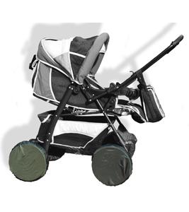Фото Аксессуары для колясок Russia Чехлы на колеса коляски 4 шт.