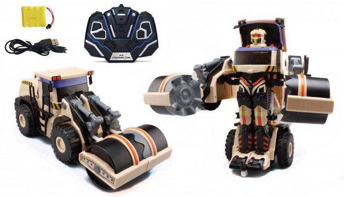 1 Toy Робот-трансформер Строительный каток на р/у от 1 Toy