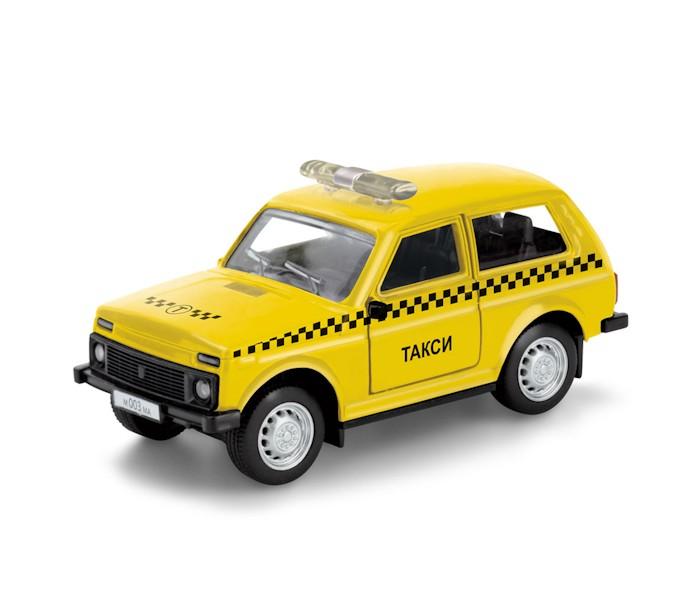 Машины Технопарк Машинка Lada 4х4 Такси машинки autotime машина lada 2104 такси