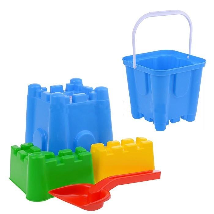 Игрушки для зимы Спектр Набор для песка Крепость формочки для песка стеллар