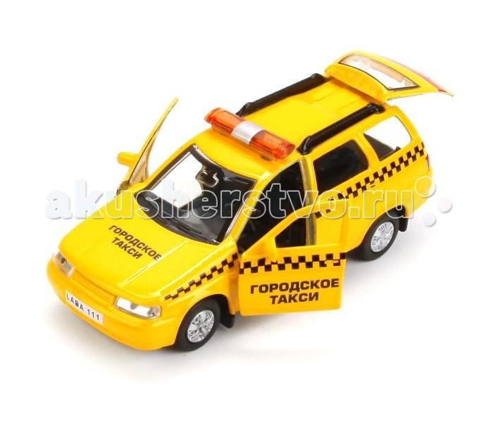 Машины Технопарк Машинка Lada 111 Такси мини машинка miniland такси 9 см синий 27507
