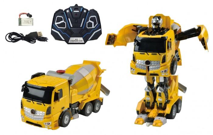 1 Toy Робот-трансформер Бетономешалка на р/у от 1 Toy