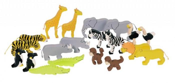 Игровые фигурки Goki Фигурки Животные ковчега цветные
