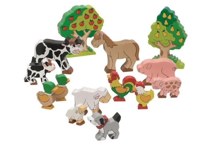 Игровые фигурки Goki Фигурки Животные фермы, деревья игровые фигурки goki фигурки животные фермы деревья