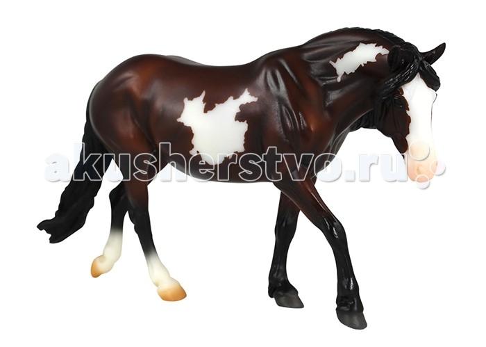 Игровые фигурки Breyer Лошадь гнедая пегая игровые наборы tomy игровой набор приключения трактора джонни и лошади на ферме