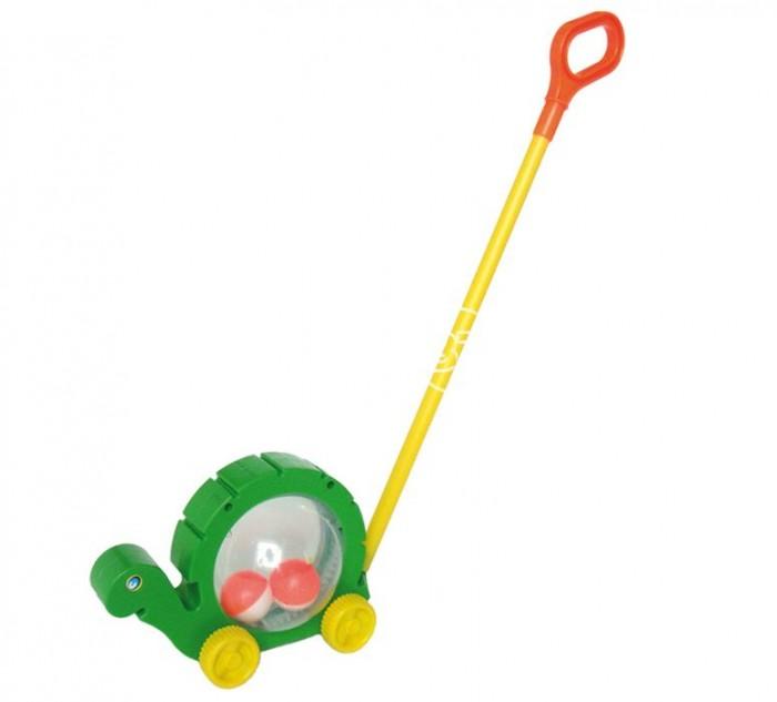 каталки игрушки djeco на палке петух фани Каталки-игрушки Спектр Черепаха