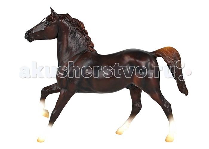 Игровые фигурки Breyer Лошадь спортивная каштановая игровые наборы tomy игровой набор приключения трактора джонни и лошади на ферме