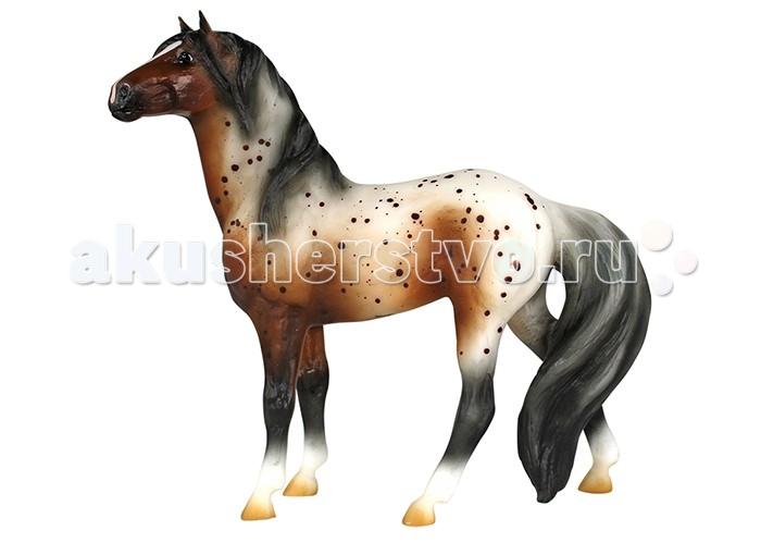 Игровые фигурки Breyer Лошадь мустанг аппалуза серая игровые наборы tomy игровой набор приключения трактора джонни и лошади на ферме