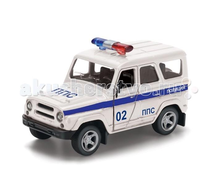 Машины Технопарк Машина УАЗ Hunter Полиция уаз 3151 2206 ч б цв сх рук по рем