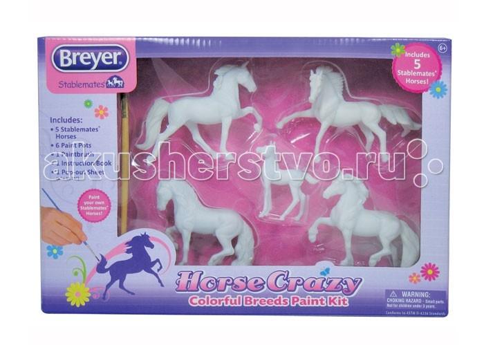 Творчество и хобби , Раскраски Breyer Раскрась удивительно разных пород лошадей арт: 414934 -  Раскраски