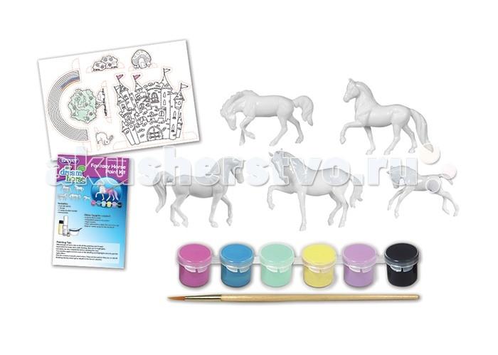 Творчество и хобби , Раскраски Breyer Раскрась лошадок из своей фантазии арт: 414944 -  Раскраски