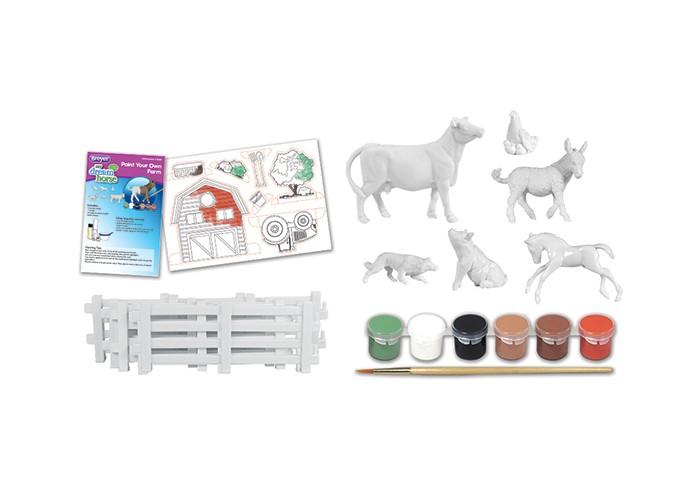 Творчество и хобби , Раскраски Breyer Раскрась животных своей собственной фермы арт: 414959 -  Раскраски