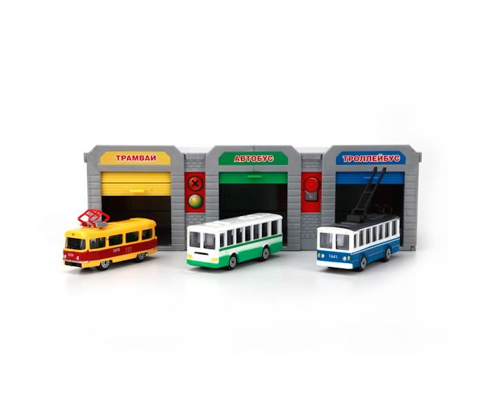 Машины Технопарк Транспортный парк машинки siku городской автобус