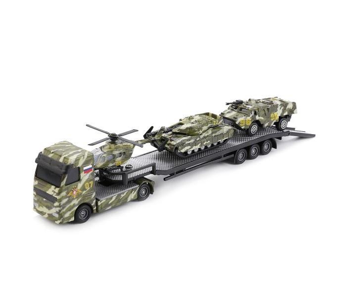 Машины Технопарк Набор военной техники