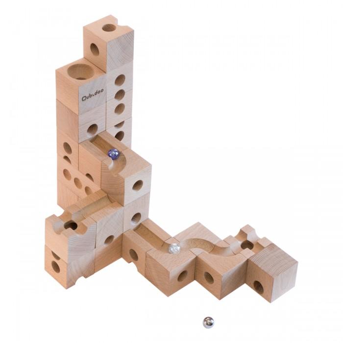 Настольные игры Qubidoo Настольная игра Развивающий конструктор конструктор деревянный лесовичок разборный домик 7