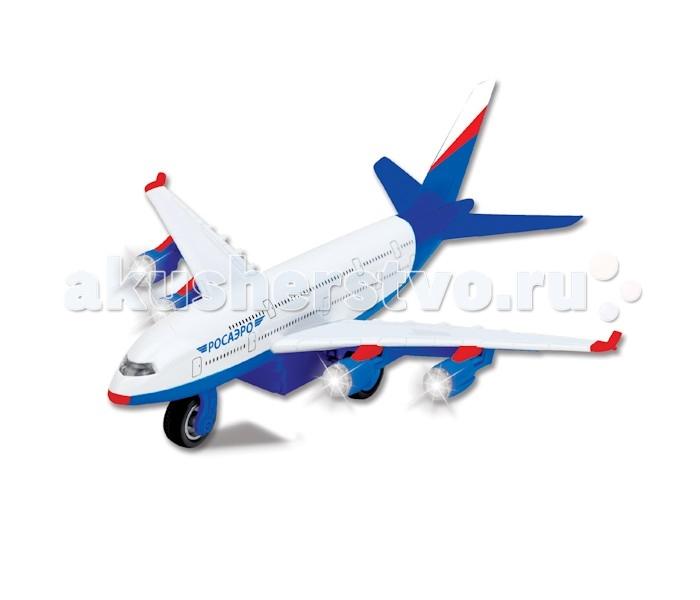Машины Технопарк Самолет Росаэро simba самолет инерционный цвет красный