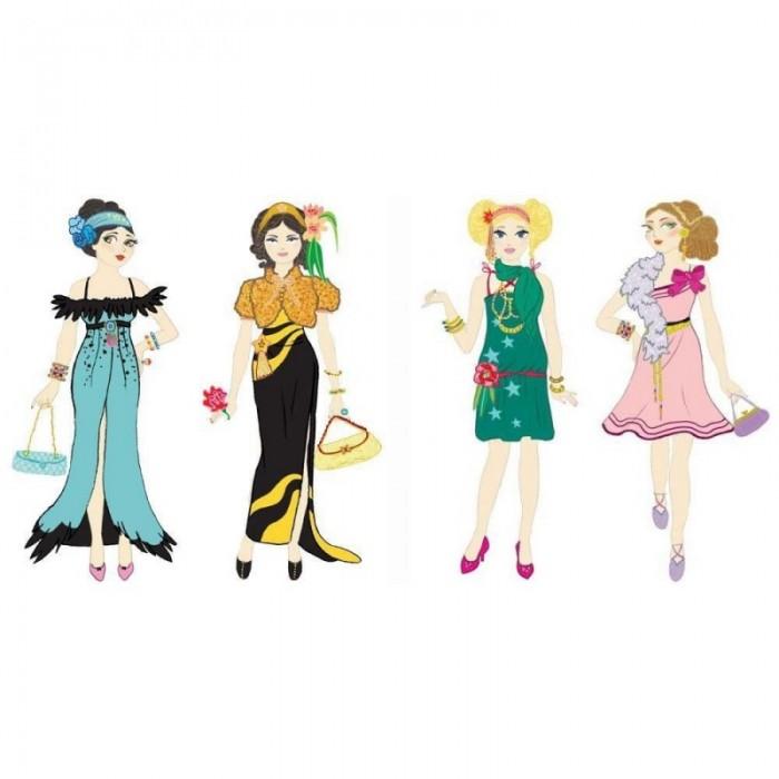 Наборы для творчества Djeco Раскраска Вечерние платья вечерние платья в старом осколе