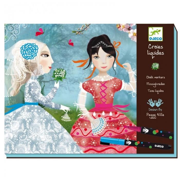 Творчество и хобби , Раскраски Djeco Девушки арт: 415699 -  Раскраски