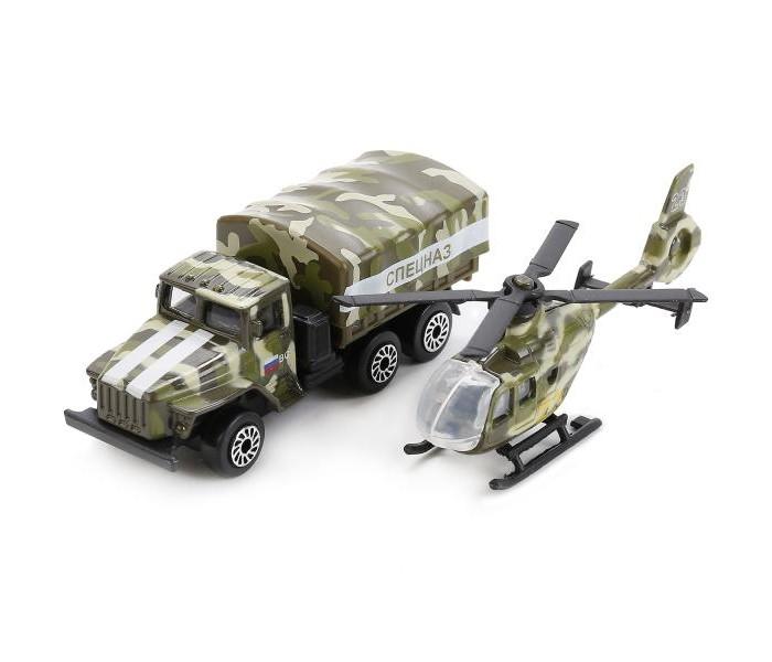 коллекционные машинки Машины Технопарк Набор Военная техника Спецназ