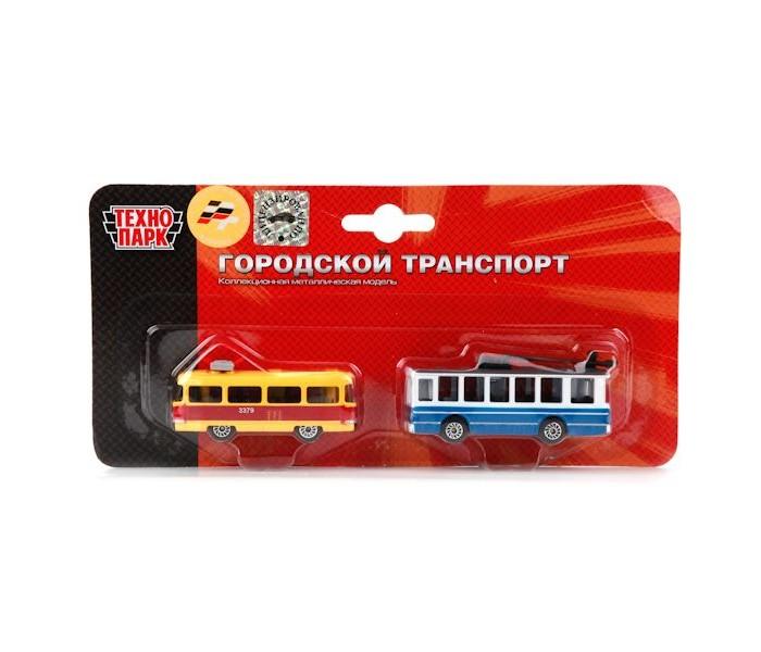 Машины Технопарк Набор Городской транспорт машины dickie набор городской транспорт