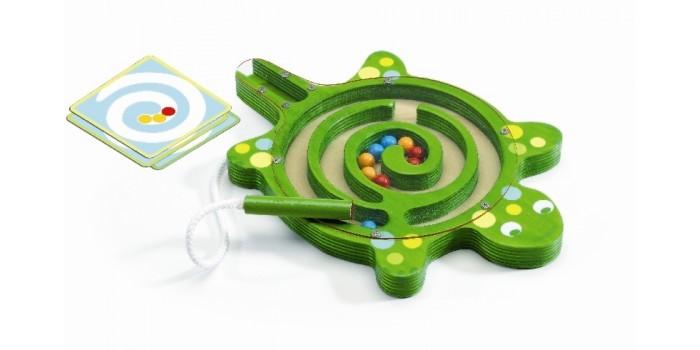 Купить Игры для малышей, Djeco Настольная игра Лабиринт Черепаха