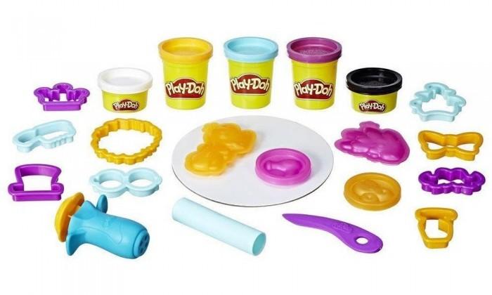 Всё для лепки Play-Doh Лепи и делай причёски hasbro play doh игровой набор из 3 цветов цвета в ассортименте с 2 лет