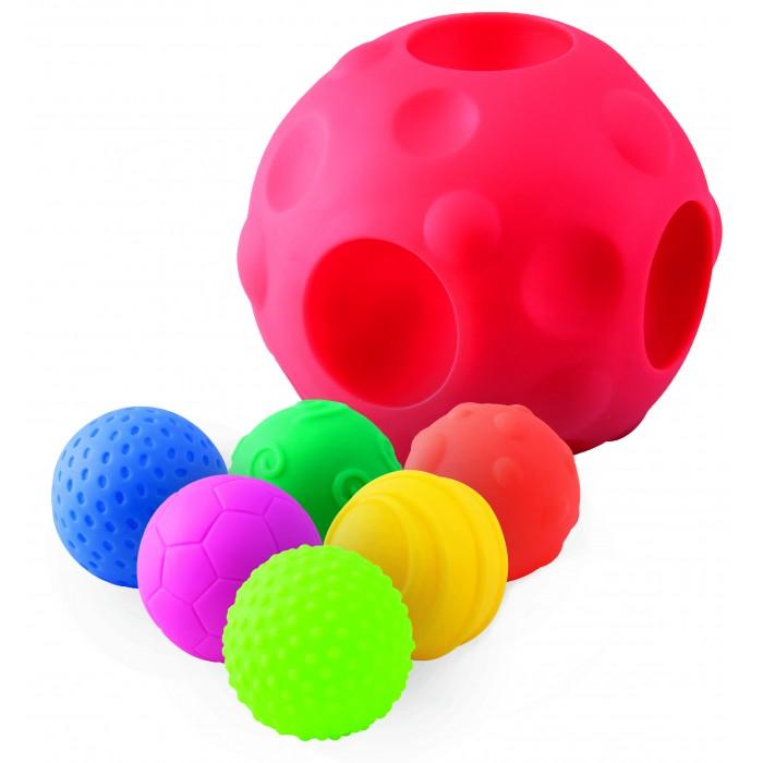 Развивающие игрушки Little Нero Сенсорные мячики развивающие игрушки little нero пирамидка собирай и катай