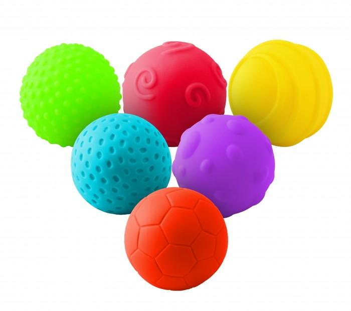 Картинка для Развивающие игрушки Little Нero Набор рельефных мячиков